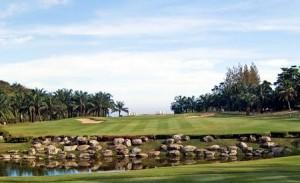 Golfturnering på Palm Hills.