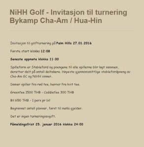 Invitasjon Bykamp 2016