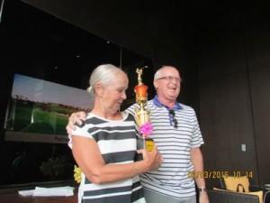 Anniken Wold ble vinner av dameklassen