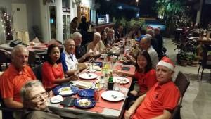 Mat etterpå petanque